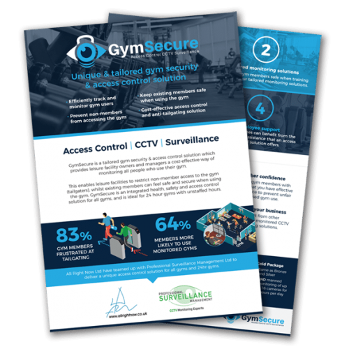 GymSecure Flyer